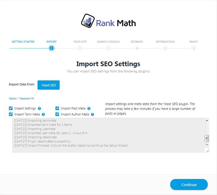 Rank-Math-Import-successfull