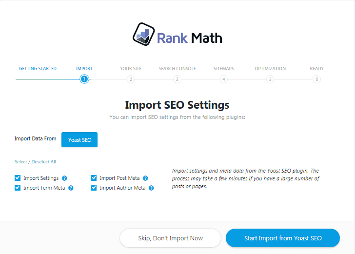 Rankmath-Import-option
