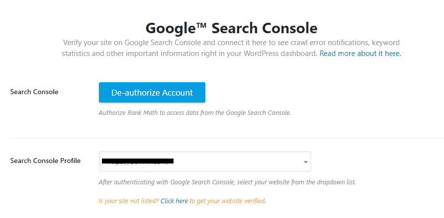 Search-Console-Option