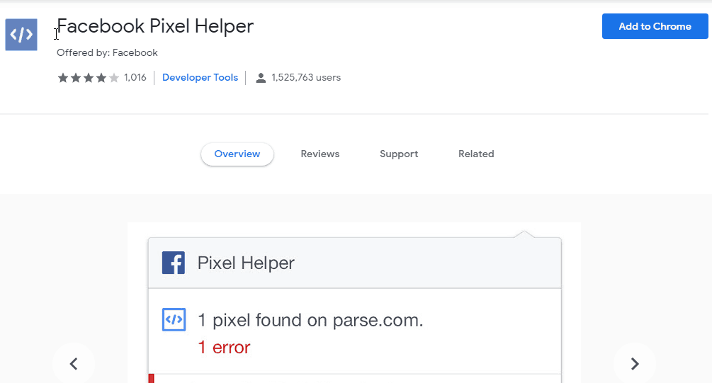 facebook-pixel-helper-chrome-extension