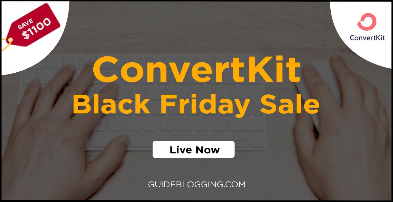 ConvertKit Black Friday