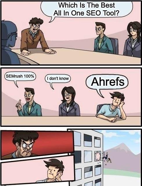 Ahrefs-Vs-SEMrush-Memes