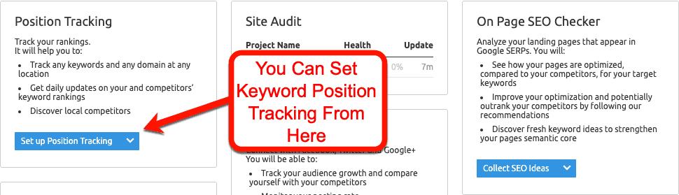 Keyword-Position-Tracking