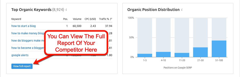 Top-Organic-Keyword-Report