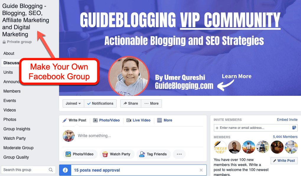 make-facebook-group